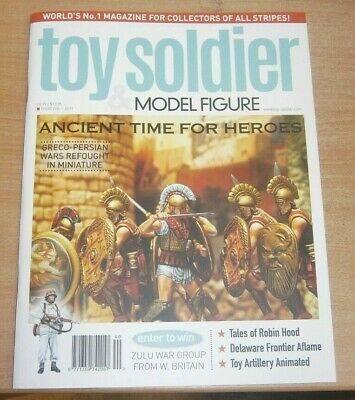 Toy Soldier & Model Figure magazine #240 2019 Greco-Persian wars in Miniature