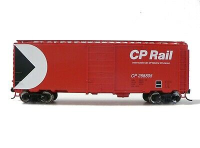 HO Scale Model Railroad Trains Walthers Mainline CP Rail PS-1 40' Boxcar 268805