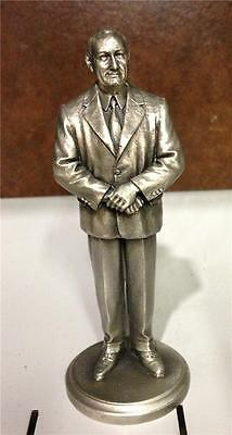 Us President Lyndon Johnson Collectible Pewter Statue Lance Presidential