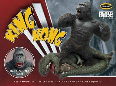 King Kong Pre-Painted Resin Model Kit - POL943 polar lights