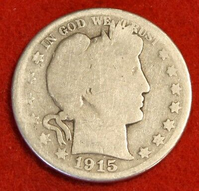 1915-D Barber Half Dollar G Beautiful Coin Check Out Store Bh498