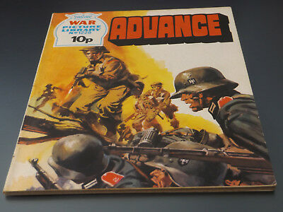 WAR PICTURE LIBRARY NO 1228!,dated 1976!,V GOOD for age,great 43!YEAR OLD issue.