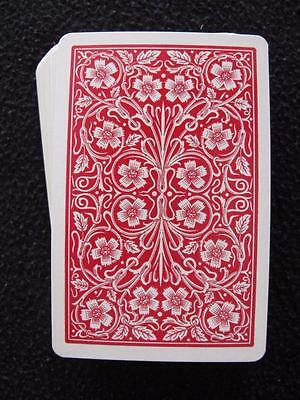 VINTAGE 1930's PACK DECK OF PLAYING CARDS - ART NOUVEAU FLOWERS