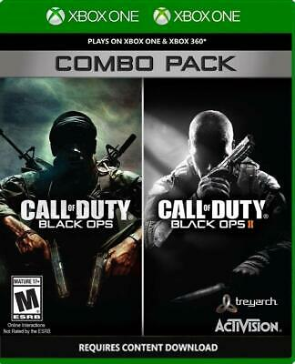 Call of Duty Black Ops Combo Pack - XBOX ONE - USED & FREE SHIPPING