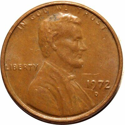 1972-D Lincoln Cent Double Die - CONECA DDO-004 AU #2322