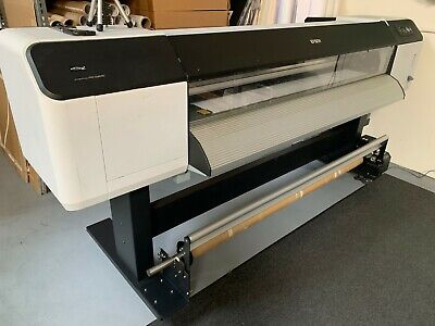 Epson Stylus Pro GS6000 Wide Format Printer w/ auto take-up reel & RIP Software