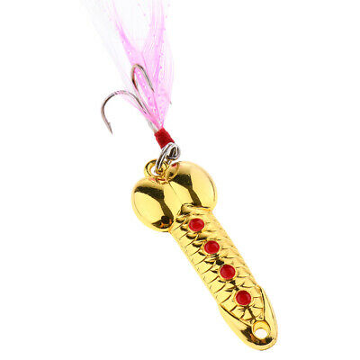 Fishing Sequins Lure Fish Lure Spoon Hook Metal Spinner Tackle Lures Baits