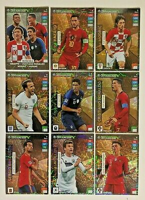 Invincible / Top Master / Expert - Adrenalyn Road To Euro 2020 -  Cards Panini