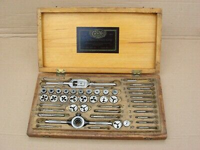THE CARD MFG ORIGINAL 0-10BA TAP & DIE SET No 303