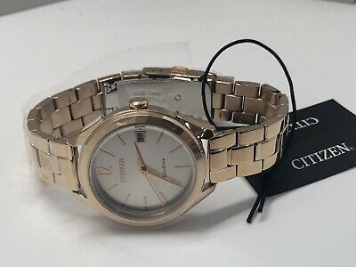 Citizen Eco-Drive Women's LTR Stainless Steel Watch FE6143-56A  (MSRP $250.00)