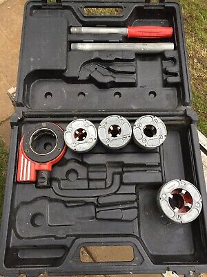 Rothenberger Super Cut Ratchet Iron Pipe Threading Set