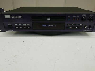 HHB CDR-830 BurnIT Professional Compact Disk Recorder Rack Mountable