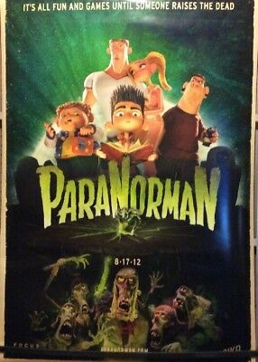2012 Paranorman Original One Sheet Theatre Poster Ds