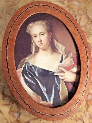 Parquetry Miniature Picture or Photo Frame