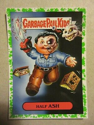 GARBAGE PAIL KIDS, Evil Dead, Ash, Oh, The Horror-ible, 80's Horror Sticker, 11a