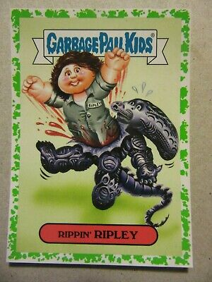 GARBAGE PAIL KIDS, Alien, Ripley, Oh, The Horror-ible, Sigourney Weaver, Aliens