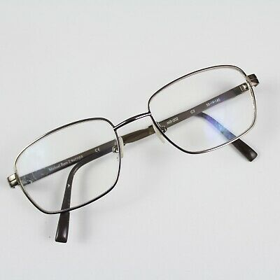 20b721f9a8b Michael Ryen Europa MR 202 Brown Metal RX Eyeglasses Glasses Frames 55 19  145