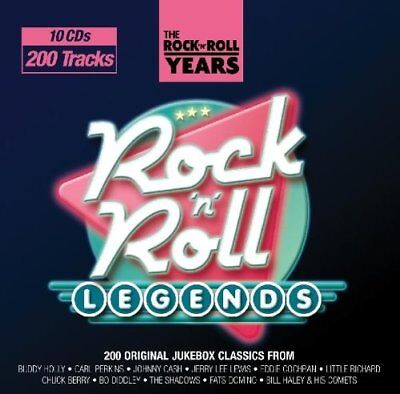 200 Songs Rock N Roll Legends Music Collection All Original Artists New 10 Cd