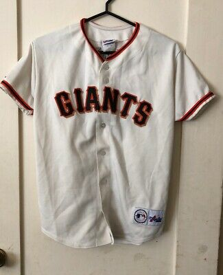 3ca763273dca Barry Bonds San Francisco Giants Throwback Jersey Youth L Majestic MLB