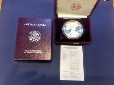 1986 S American Eagle One Ounce Fine Silver Proof FREE SHIPPING!