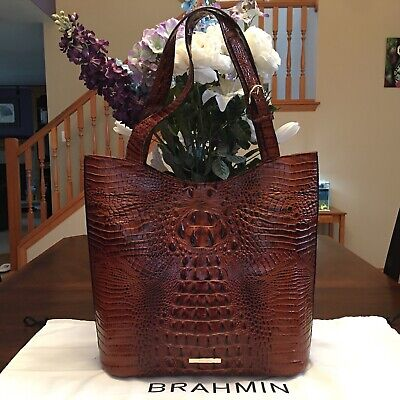 a85abadca ❤❤GREAT FOR WORK! Brahmin Black Business Tote Laptop Bag ...