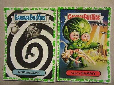 GARBAGE PAIL KIDS, Rod Serling, The Twilight Zone, Retro Sci Fi, Saucy Sammy