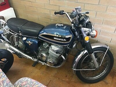 Honda CB750 1974 only 6949miles! Suit Collector