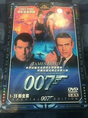 DVD James Bond 007 20 Movies Set in English Language