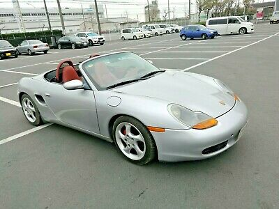 1997 Porsche Boxster  Rare leather red interior classic 986 boxter manual left-side steering beautiful