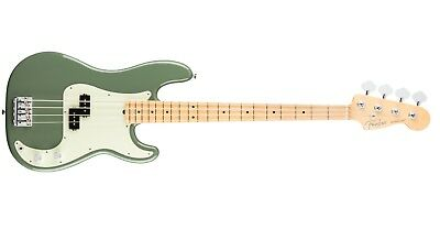 Fender American Professional Precision Bass, Antique Olive, M/N, New