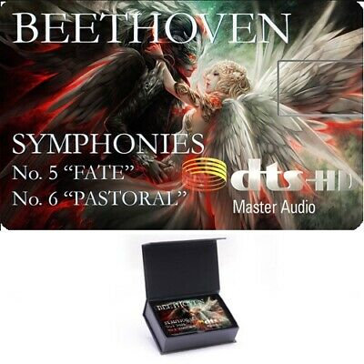 Beethoven: Symphonies  No. 5&6 , High Definition Music Card Blu- ray