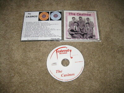 The Casinos Then You Can Tell Me Goodbye CD Fraternity 1001 Netherlands