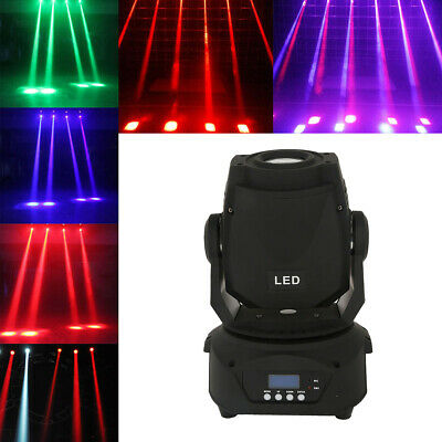 60W RGBW LED Moving Head Stage Lighting DMX-512 Disco XMAS Party Light 7Colors