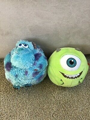 6412b218f0c Lot of 2 Monsters University Ty Beanie Ballz Plush  Sully   Mike GUC