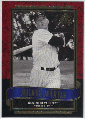 Mickey Mantle 2003 Sp Legendary Cuts #91