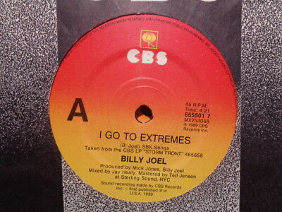 """Billy Joel """"Tell Her About It"""" 1983 CBS Oz or NZ 7"""" 45rpm"""