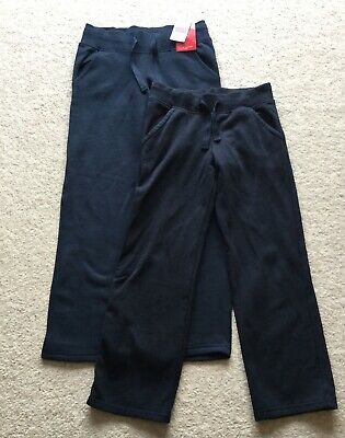 Girls Joggers Marks & Spencer Navy Blue age 7-8 Years & 9-10 Years