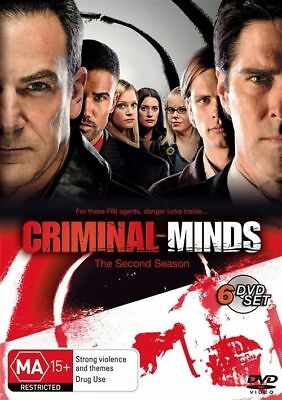 CRIMINAL MINDS :THE COMPLETE Season 2 (DVD 6-Discs) BRAND NEW SEALED FAST POST