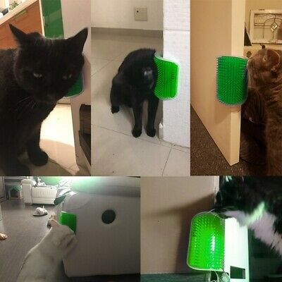 Pet Products Cat Groomer Grooming Tool Removal Brush Comb Cats Hair On The Wall