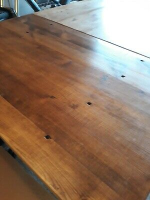 Old timber 9ft Extendable Dining Table. Pick up SA 5018