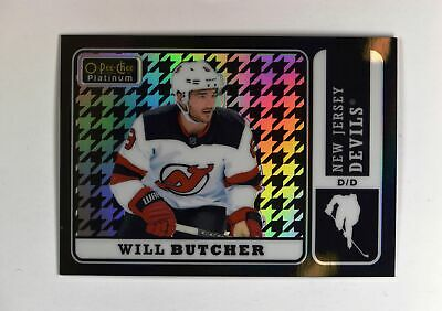 2018-19 UD O-Pee-Chee OPC Platinum Retro Houndstooth #R-8 Will Butcher /25