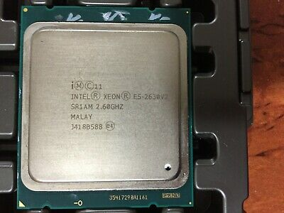 Intel Xeon E5-2630v2 2.60GHz SR1AM 6 Core Processor