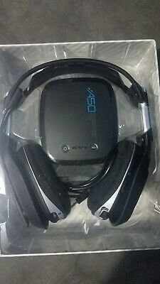 """For Repair ASTRO Gaming A50 Wireless Dolby Gaming Headset PS4 AS-IS """"Read Below"""""""
