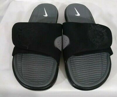 brand new 25505 c21d2 denmark nike air lebron slide black and gray 0f156 ffaf3