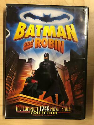 BATMAN AND ROBIN - The Complete 1949 Movie Ser New DVD
