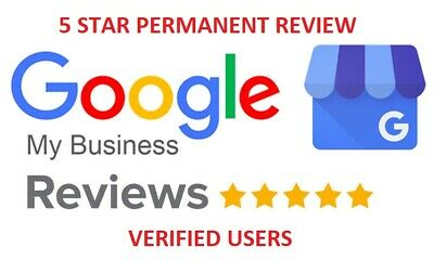 1x REAL FIVE STAR GOOGLE REVIEW (PERMANENT)