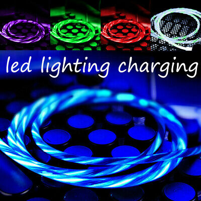 Light-up LED USB Data Sync Charger Cable Charging Cord For iPhone & Android