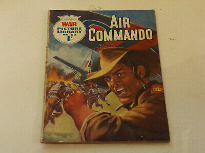 WAR PICTURE LIBRARY NO 52 !,dated 1960 !,GOOD for age,great 59 !YEAR OLD issue.