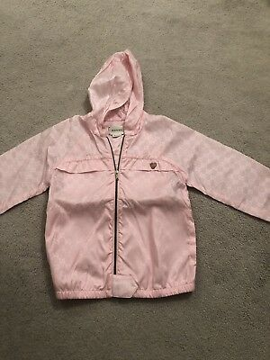 Girls Baby Pink Gucci Jacket Age 3