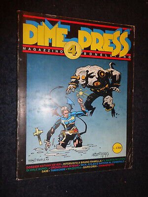Dime Press Magazzino Bonelliano 4 1992 1° Apparizione Mondiale Hellboy - O2 - Fl